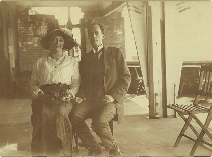 Douglas and Paquita Mawson, c. 1914
